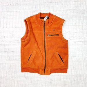 Baby Gap size 5T orange vest